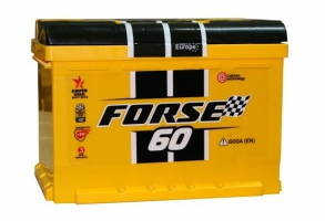 Forse 60 Ah (0) 600A 6СТ-60