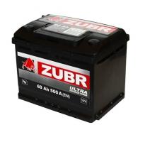 Аккумулятор Zubr Ultra 60 Ah (1) 500 A L+