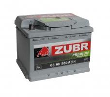 Zubr Premium 63 Ah (0) 550 A