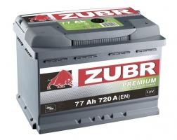 Zubr Premium 77 Ah (1) 720 A L+