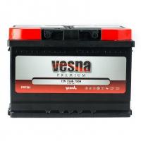 Vesna Premium 75 Ah (0) 750 A