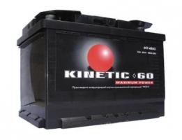 Kinetic 60 Ah (1) 480 A L+