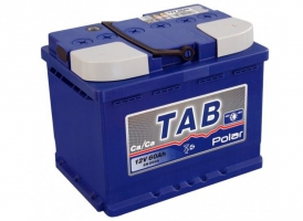 TAB Polar Blue 60 Ah (1) Euro 600 AL+