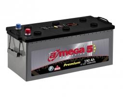 Аккумулятор A-MEGA Premium 190 Ah (3) 1200 A
