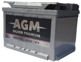 AGM Silver Premium 60 Ah (0) 600A